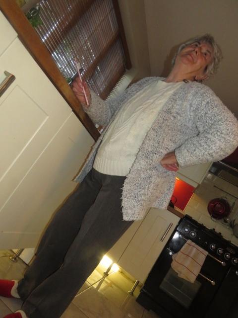 Granny big fat 'Tinder Gran'