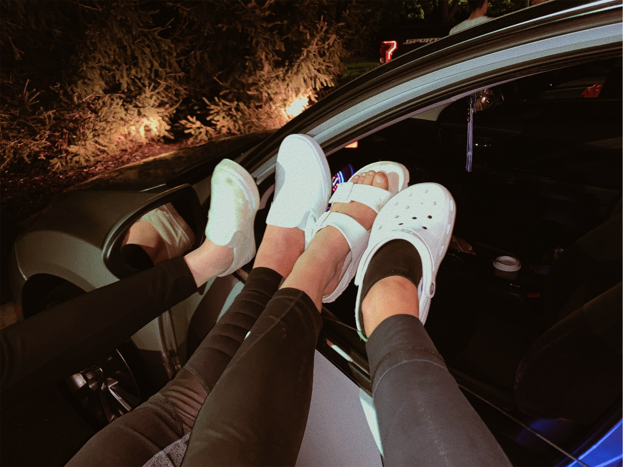 White shoes are the bestest (but crocs