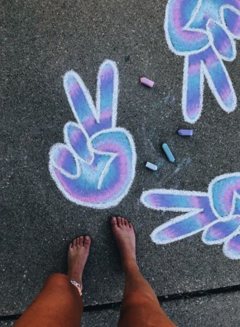 VSCO - #summer #chalk #art #goals   summavibing
