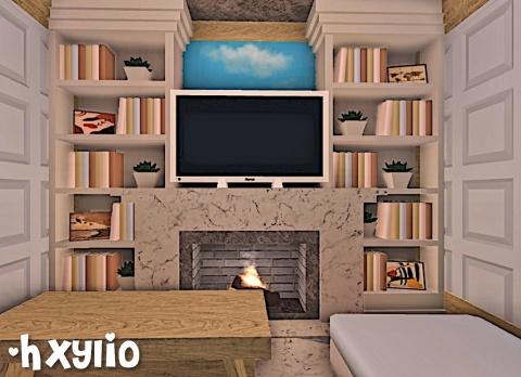 Cozy Aesthetic Living Room Roblox Bloxburg Bloxburgbuild Gaming Trending Vsco Youtube Aesthetic Hxylio Vsco
