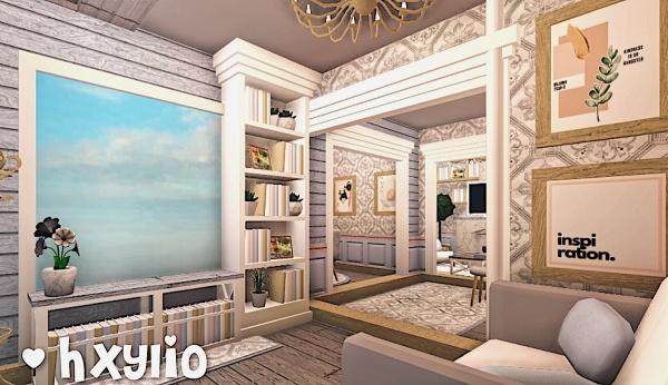 Bloxburg Aesthetic Living Room : Roblox Bloxburg Aesthetic ...