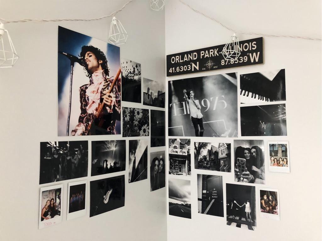 VSCO - new room, new wall collage | talaabu