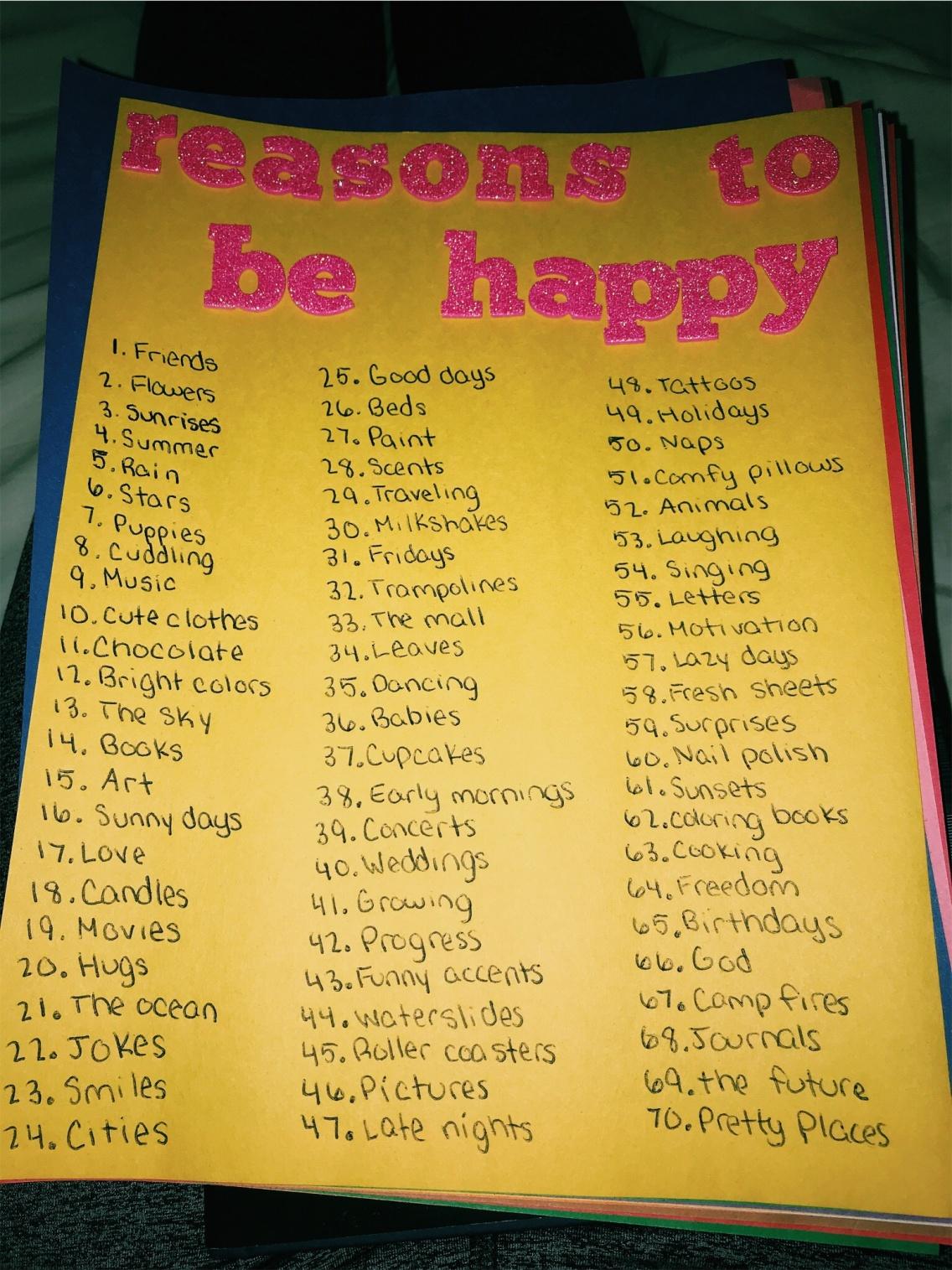 My i friend best why reasons love 74 Reasons