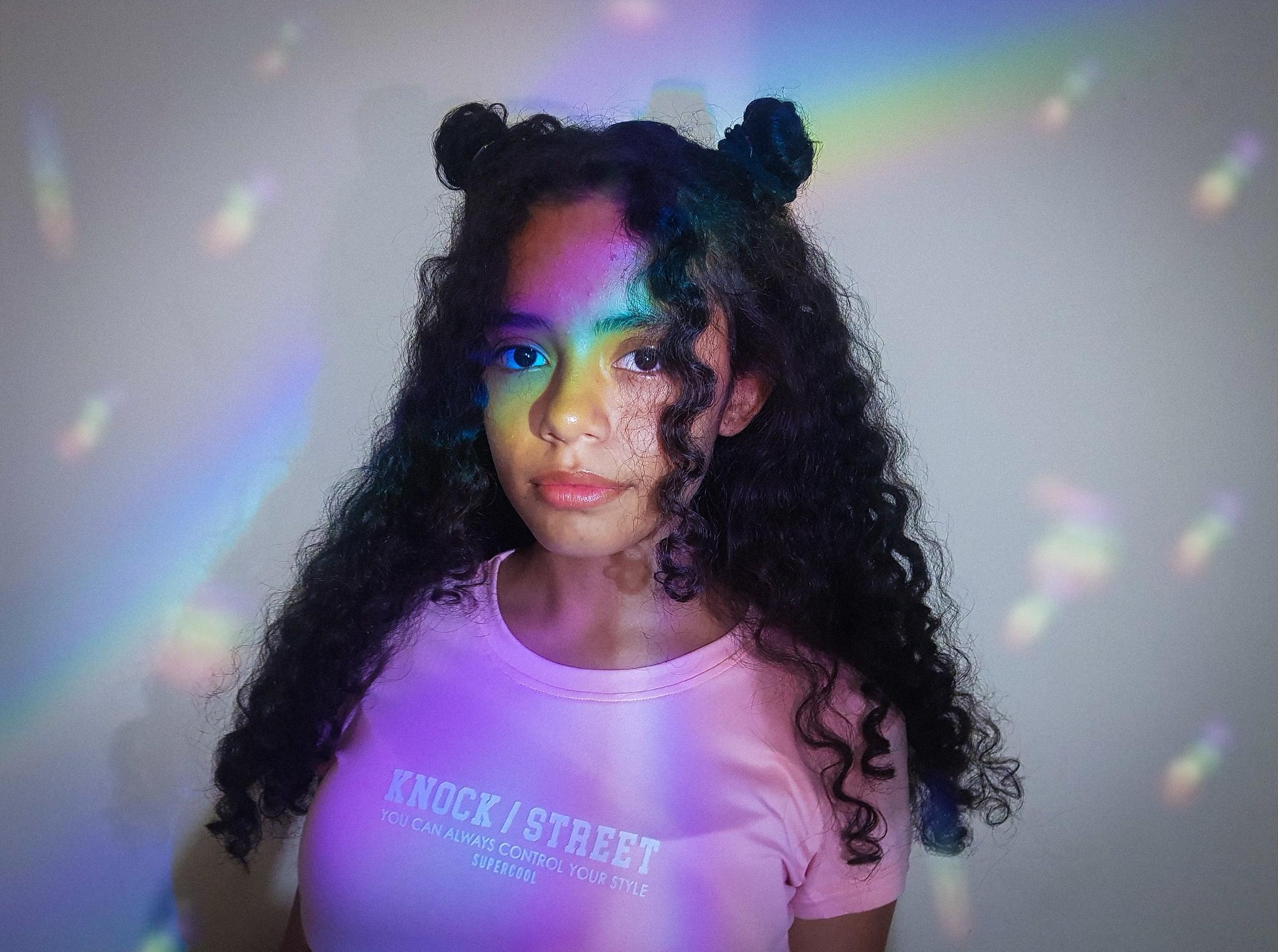Asylph On Instagram Tumblr 35mm Aesthetic Rainbow Edit Vsco Vscox Lights Model Kodak Portrait Photography Photo Asylph Vsco