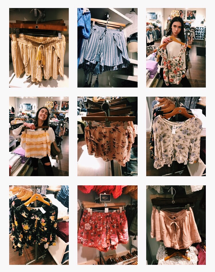 VSCO - my entire camera roll contains clothes i want to buy + kylie