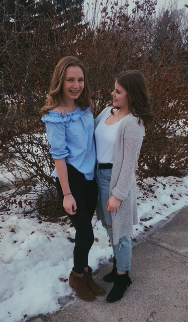 Shes taller than me