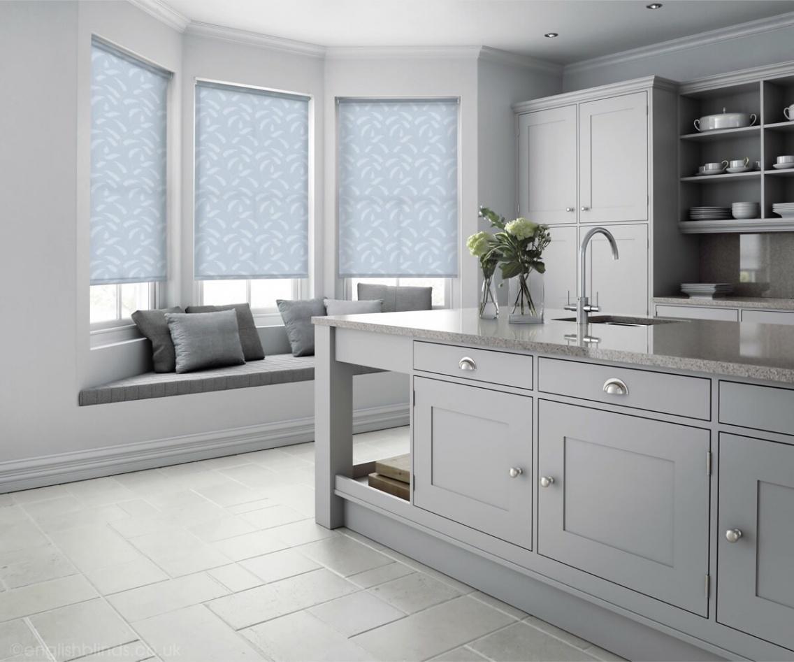Filix Sky Roller Blinds Blinds Interiors Interiordesign Kitchen Modern Contemporary Grey Englishblinds Vsco