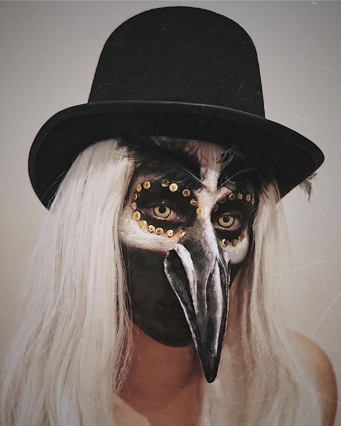 Bird Halloween Makeup.Halloween Makeup Sfx Sfxmakeup Makeup Halloween Halloweenmakeup Bird Crow Concept Vsco Kiekua Vsco