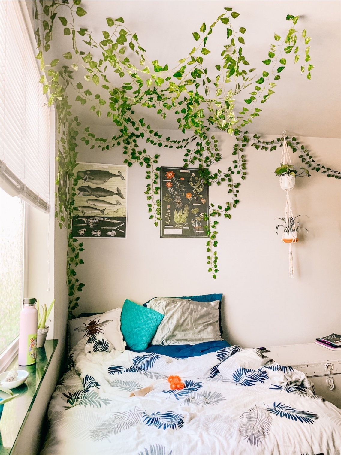 Bedroom Aesthetic Indoorplants Plants Pinterest Love Abundance Peace Decoration Homedecor Lavendersmycolor Vsco